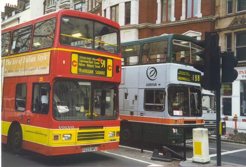 IAN'S BUS STOP: LONDON's Volvo Citybuses
